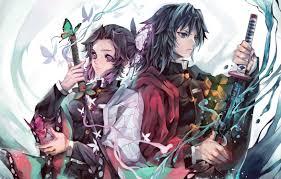Giyuu tomiaka and Shinobu Kocho