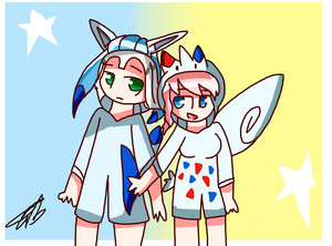 Glaceon and Togekiss