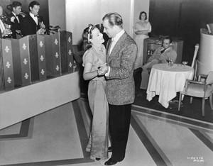 Greta Garbo ~ Melvyn Douglas ~ Rehersal for Ninotchka