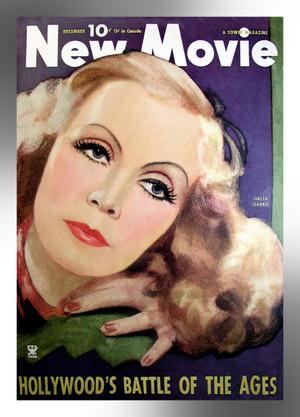 Greta Garbo ~ New Movie Magazine Cover