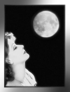 Greta Garbo and the Moon