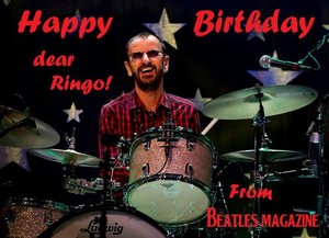 Happy Birthday Ringo!🎈