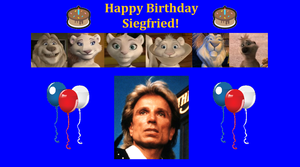 Happy Birthday Siegfried