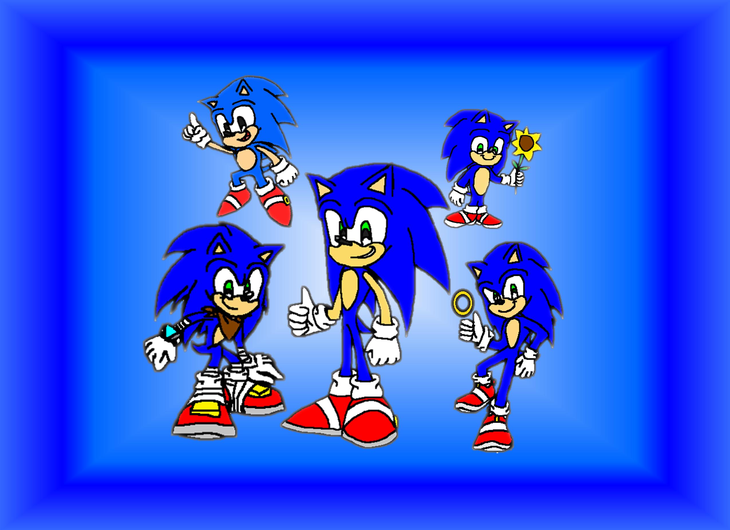 Happy Birthday Sonic The Hedgehog June 23 Sonic The Hedgehog Fan Art 43419573 Fanpop