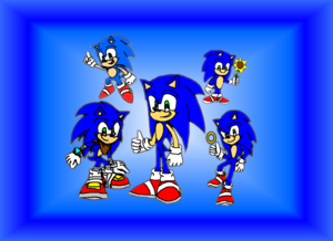 Happy Birthday Sonic the Hedgehog (June 23)