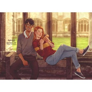 Harry Potter and Ginny Wesley