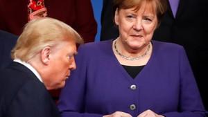 Herr Trump und Frau Merkel - Immer noch Freunde?