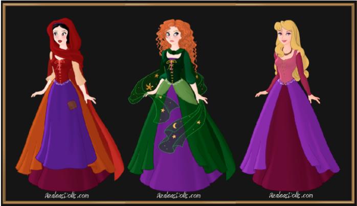 Hocus Pocus Princesses