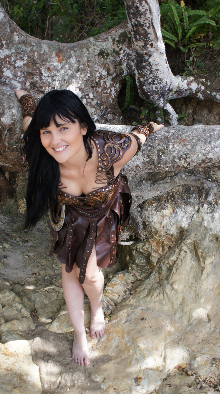 Hot And Sexy Barefoot Xena Warrior Princess Costume ...