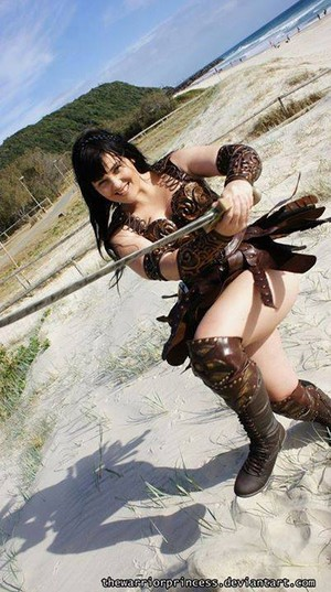 Hot And Sexy Xena Warrior Princess Costume Cosplay দ্বারা thewarriorprincess - December 2011