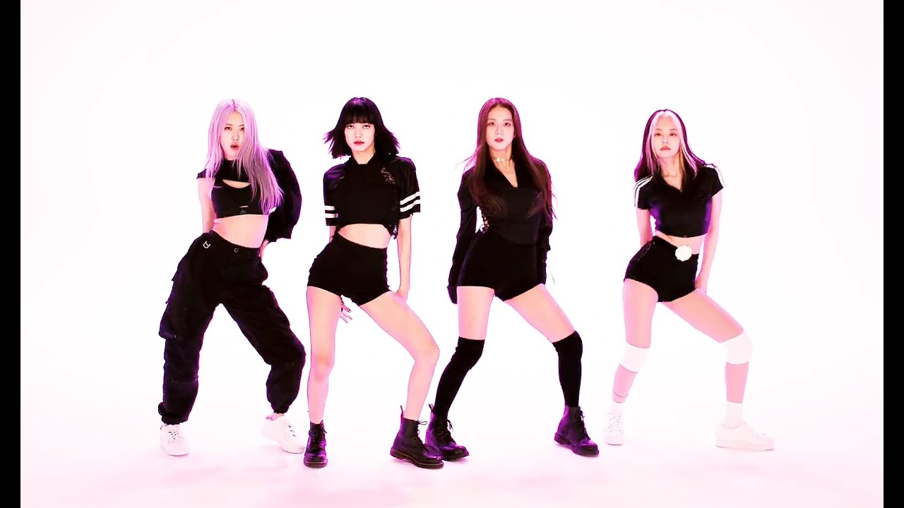 How you like that dance practice video