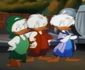 Huey, Dewey, and Louie anatra (Quack Pack)