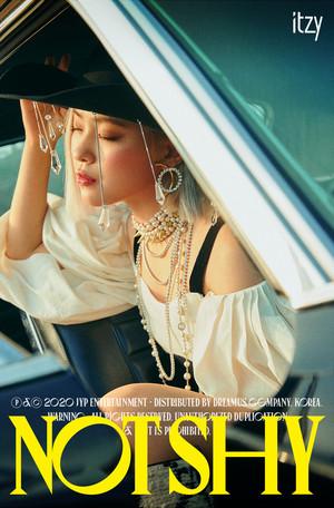 ITZY 'Not Shy' teaser image - Ryujin
