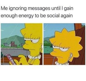Ignoring messages