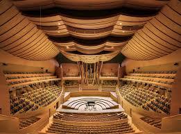 Inside Walt disney konser Hall