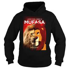 James Earl Jones As Mufasa switer lengan panjang, kaus