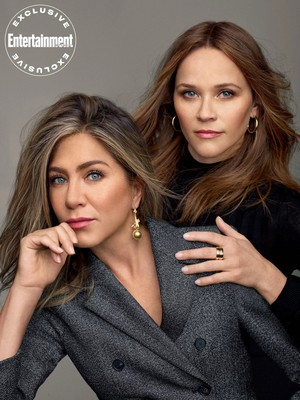 Jennifer Aniston & Reese Witherspoon for Entertainment Weekly [October 2019]