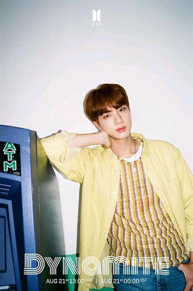 Jin (Dynamite Teaser Photo)