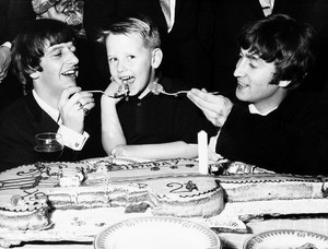 John and Ringo celebrate Roy Orbison Jr.'s birthday!
