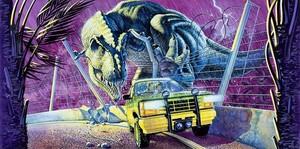 Jurassic Park McDonald's Cup Illustration