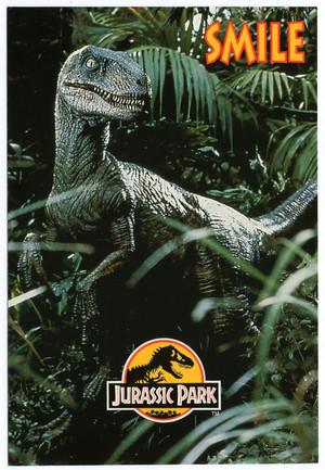 Jurassic Park Postcard