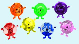 KïdsTv123 The ColorBubblïes Song