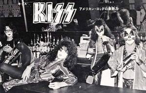 Kiss (NYC) photo shoot for musique Life magazine (Ashley's Restaurant)