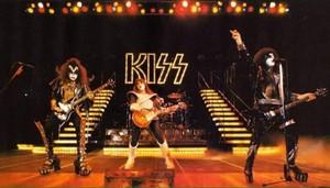 KISS ~San Diego, California...August 19, 1977 (Love Gun Tour - ALIVE II Photo Shoot)