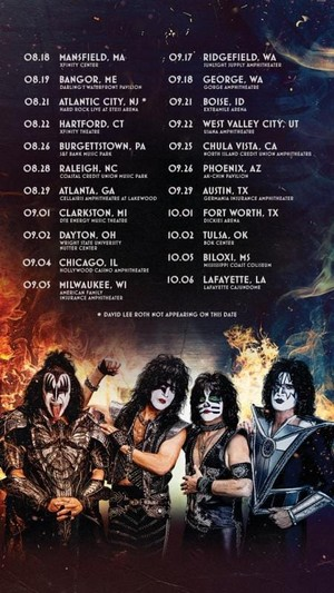 Kiss || U.S. Summer Tour 2021