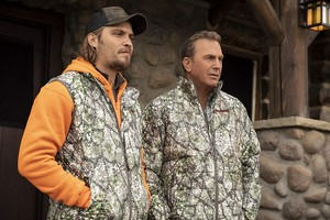 Kevin Costner as John Dutton in Yellowstone: Blood the Boy