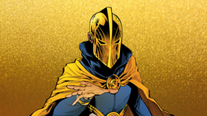 Khalid Nassour/Doctor Fate in Justice League Dark no 22