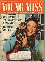Kirk Russell On The Cover Of Young Miss