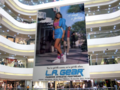 L.A. Gear on the Billboard - commercials photo