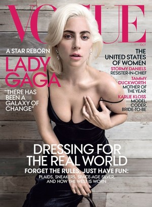 Lady Gaga for Vogue US [October 2018]