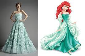 Little Mermaid Inspired Wedding Dress