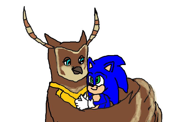 Longclaw Taking Care Of Baby Sonic Sonic The Hedgehog Fan Art 43411874 Fanpop