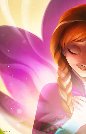 Любовь will Thaw (Anna)