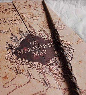 Marauder's Map and a Wand