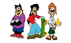 Max Goof, PJ and Bobby Zimmeruski