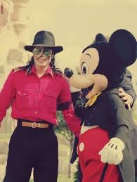 Michael Jackson And Mickey Mouse