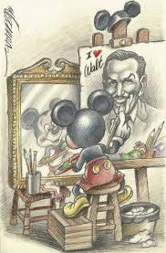 Mickey And Walt Disney