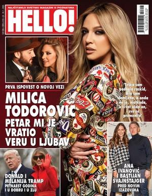 Milica Todorović for Hello Magazin