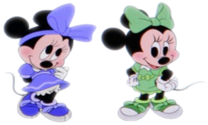 Millie and Melody Mouse,
