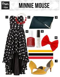 Minnie mouse Prom Inspired Attire