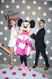 Minnie With Sarah Hyland And Christian Siriano
