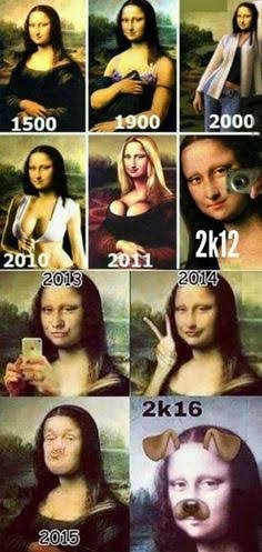 Mona Lisa: Before & After