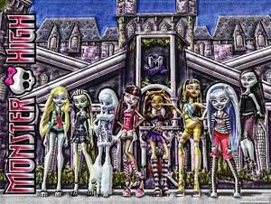 Monster High (3D HDR)