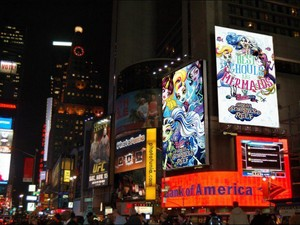 Monster High Great Scarrier Reef on the Billboard