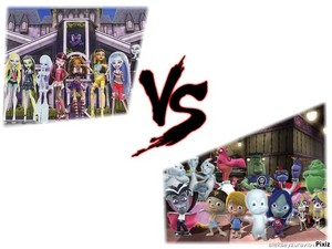 Monster High vs. Scare School