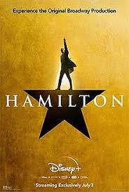 Movie Poster 2020 디즈니 Film, Hamilton